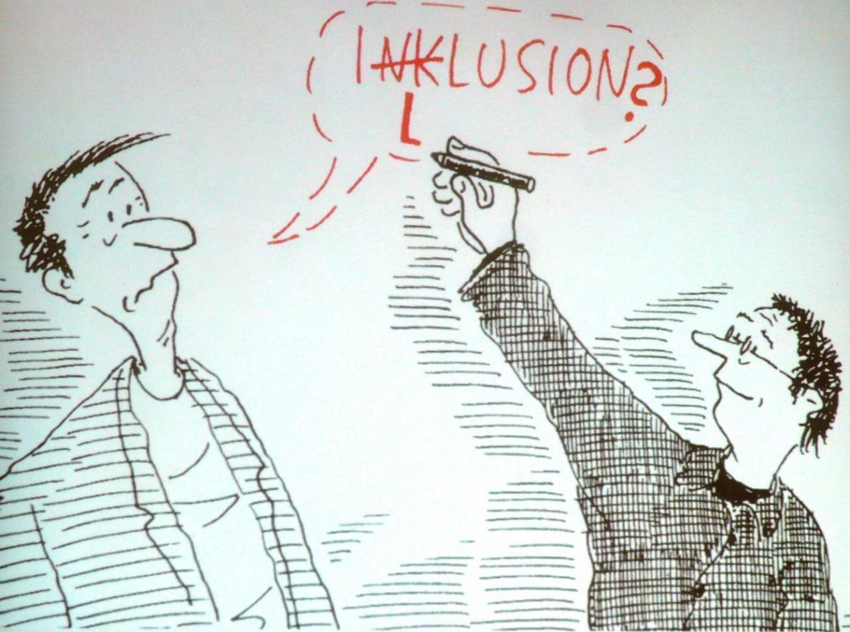 Inklusion - vielleicht entpuppt sie sich doch nur als Illusion oder Traum?
